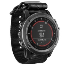 Luxury Nylon Strap 5 Ring Watch Penggantian Band Untuk Garmin Fenix 3 Bk Intl Asli
