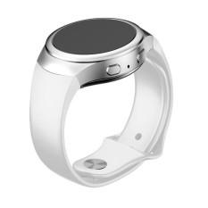 Mewah Silikon Tali Jam untuk Samsung Galaxy Gear S2 SM-R720 WH-Intl