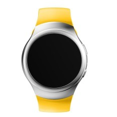 Mewah Silikon Tali Jam untuk Samsung Galaxy Gear S2 SM-R720 YE-Intl
