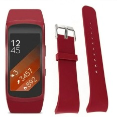 Promo Mewah Jam Tangan Silikon Penggantian Band Strap Untuk Samsung Gear Fit2 Pro Fitness Intl Oem