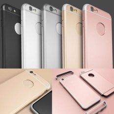 Mewah Ultra Tipis Pelindung Tahan Benturan Kembali Case Cover UNTUK iPhone 6/6 S Plus Warna Abu-abu-Intl