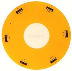 Spesifikasi Lvsun 6 Usb Charger 10 2A Kuning Murah