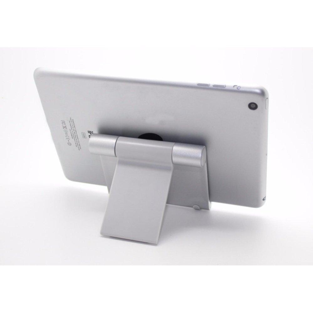 Lyball Universal 360 ° Sudut Dudukan Ipad Portabel Tahan Lama Dudukan Fleksibel untuk Tablet E-Pembaca dan Smartphone Apple Iphone Samsung Galaxy/ tab HTC Google Nexus Pixel LG Huawei OnePlus LG (Putih) -Intl