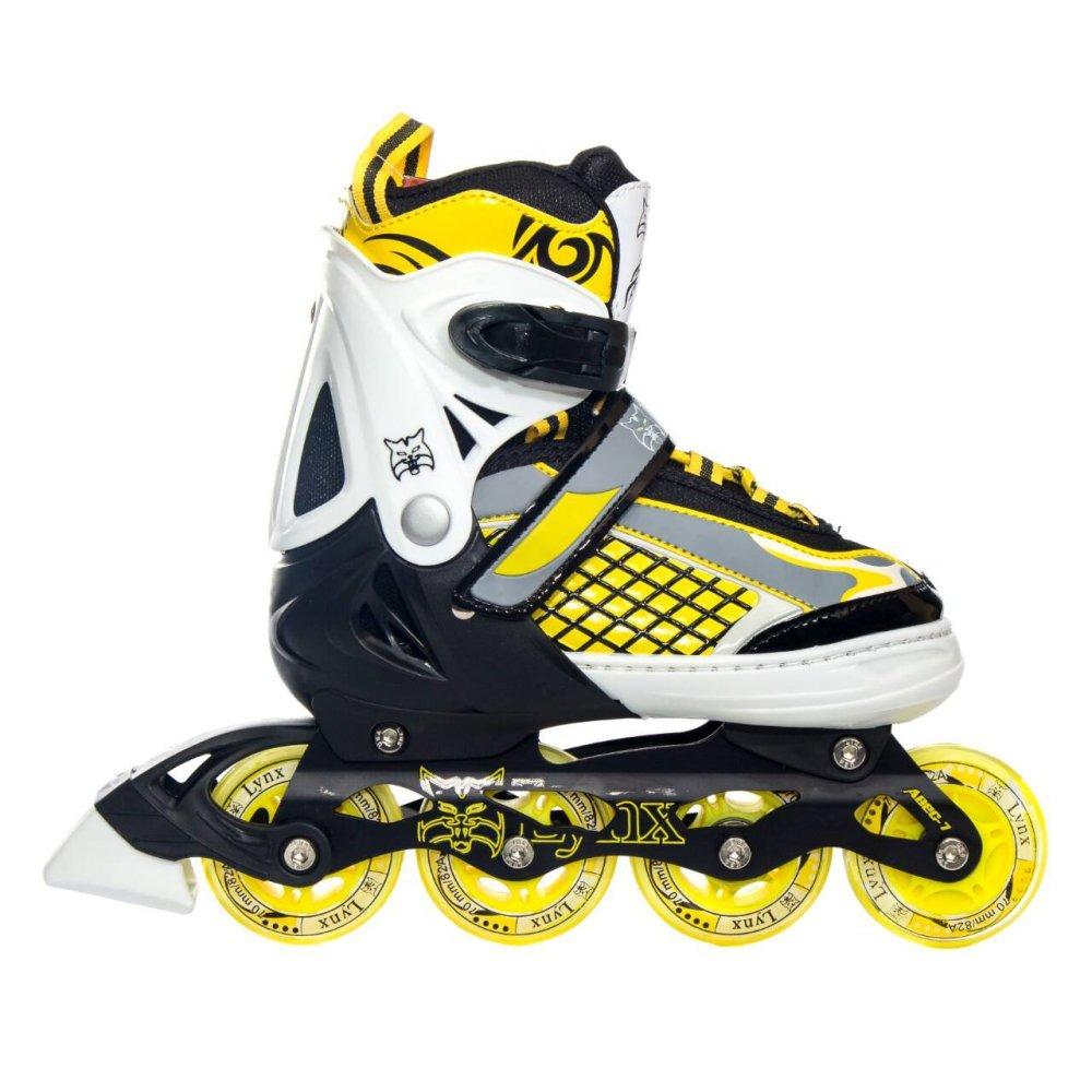 Spesifikasi Lynx Sepatu Roda Recreational Inline Skate R55 Kuning Yang Bagus Dan Murah