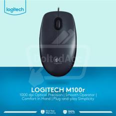 Harga M 100R Mouse Hitam Logitech Original