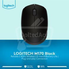 Promo M 170 Wireless Mouse Hitam Akhir Tahun