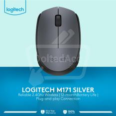 Jual M 171 Wireless Mouse Abu Abu Lengkap