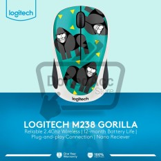 Spesifikasi M 238 Wireless Mouse Party Collection Gorila Yang Bagus