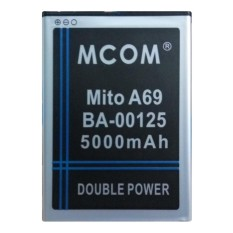 M-Com Baterai Double Power Battery for Mito Fantasy 3 / A69 / BA-00125 - 5000 mAh