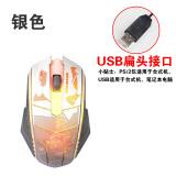 Harga Meter Kepiting Mouse M2 Tujuh Warna Meter Berkabel Pernapasan Lampu Yang Bagus