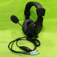 M Tech Headset Headphone Multimedia A4 M Tech Diskon 50
