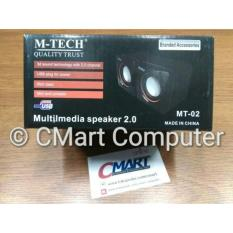 M-TECH Multimedia Speaker 2.0 Aktif Portable Speker Aktiv - MT-02