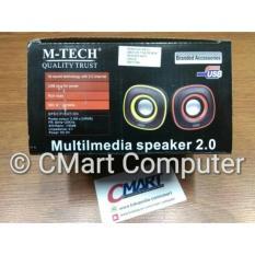 M-TECH Multimedia Speaker 2.0 Aktif Portable Speker Aktiv - MT-06