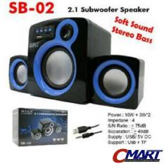 Jual M Tech Multimedia Speaker 2 1 Aktif Subwoofer Portable Speker Sb 02 M Tech Online