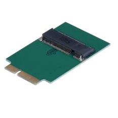 M.2 NGFF SSD untuk 12 + 6 Pin Adaptor untuk MacBook Air 2010 2011 A1370 A1369-Intl