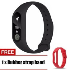 Harga M2 Gelang Heart Rate Monitor Smart Jam Olahraga Pengingat Smart Gelang For Ios And Android Branded