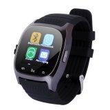 Model M26 Bluetooth Smart Wrist Watch Ponsel Cocok Untuk Ponsel Android Untuk Iphone Hitam Terbaru