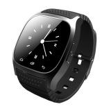 Toko Jual M26 Bluetooth Selai Pintar With Memimpin Alitmeter Pemutar Musik Alat Pengukur Langkah For Ios Android Cerdas Perhiasan Hitam