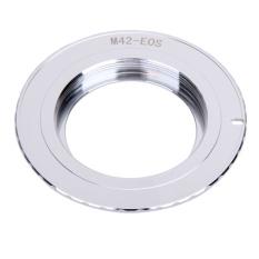 M42-EOS Lensa Cincin Adaptor Sesuai untuk M42-EOS Screw Mount Lensa untuk Canon EOS 500D, 1000D, 450D, 400D, 350D, 300D, 50D, 40D, 30D-Intl