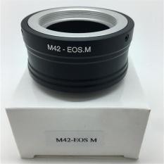 M42 Mount Lens Ke EF-M Mount Adapter Ring untuk Canon EOS M M2 M3 M5 M10 Kamera-Intl