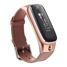 Jual M6 Smart Watch Band Olahraga Gelang Smart Bluetooth 4 Earphonessleep Monitor Pelacak Kebugaran Untuk Ios Dan Android Telepon Hxtk4696 Intl Oem Branded