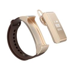 M8 Sport Smart Gelang Bluetooth Headset Didukung Dengan Pedometer Tidur Monitor Anti Lost Untuk Ios Iphone Android Emas Diskon Akhir Tahun
