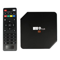M9 Plus Smart Android TV Box Android 5.1.1 Amlogic S905 Quad Core 2GB / 16GB with Kodi XBMC UHD 4K*2K 60fps HD Mini PC 2.4GHz & 5GHz Dual WiFi Bluetooth 4.0 DLNA Airplay Miracast LED Display Media Player US Plug