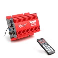 Jual Ma 700 500 W Mobil Motor 2 Saluran Audio Amp Amplifier Dukungan Usb Mp3 Fm Input Tiongkok Murah