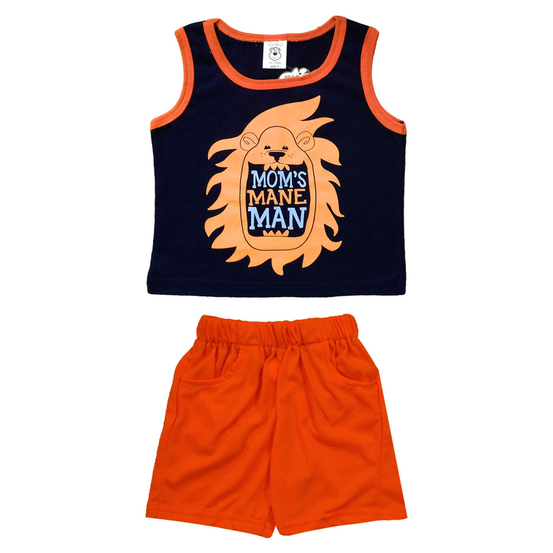 MacBear Kids Baju Anak Set Mom's Mane Man