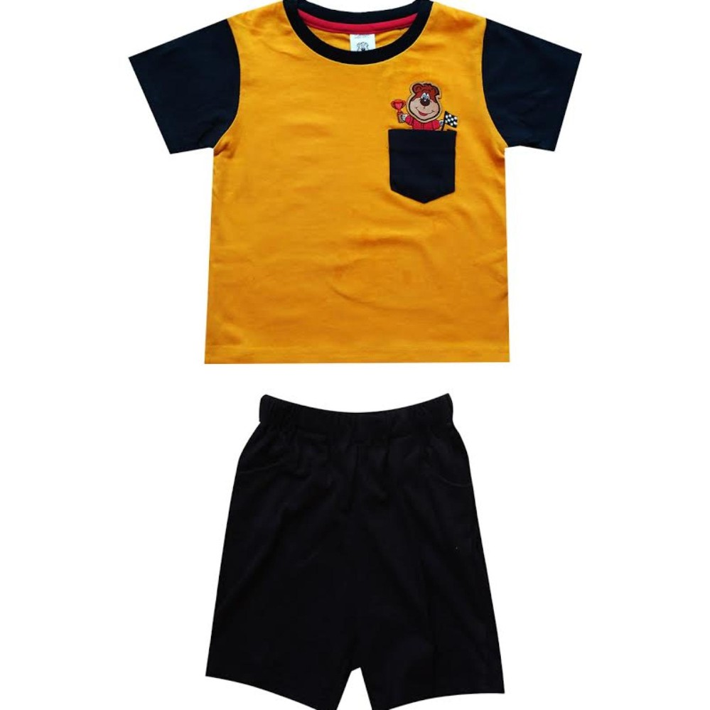 Macbear Baju Polo Anak M For White Stripes On Yellow Size 4 Junior Atasan Flag Usa 8 Hijau Muda Rp 47475 Kids Setelan Winner Of Yellowidr47475 48573