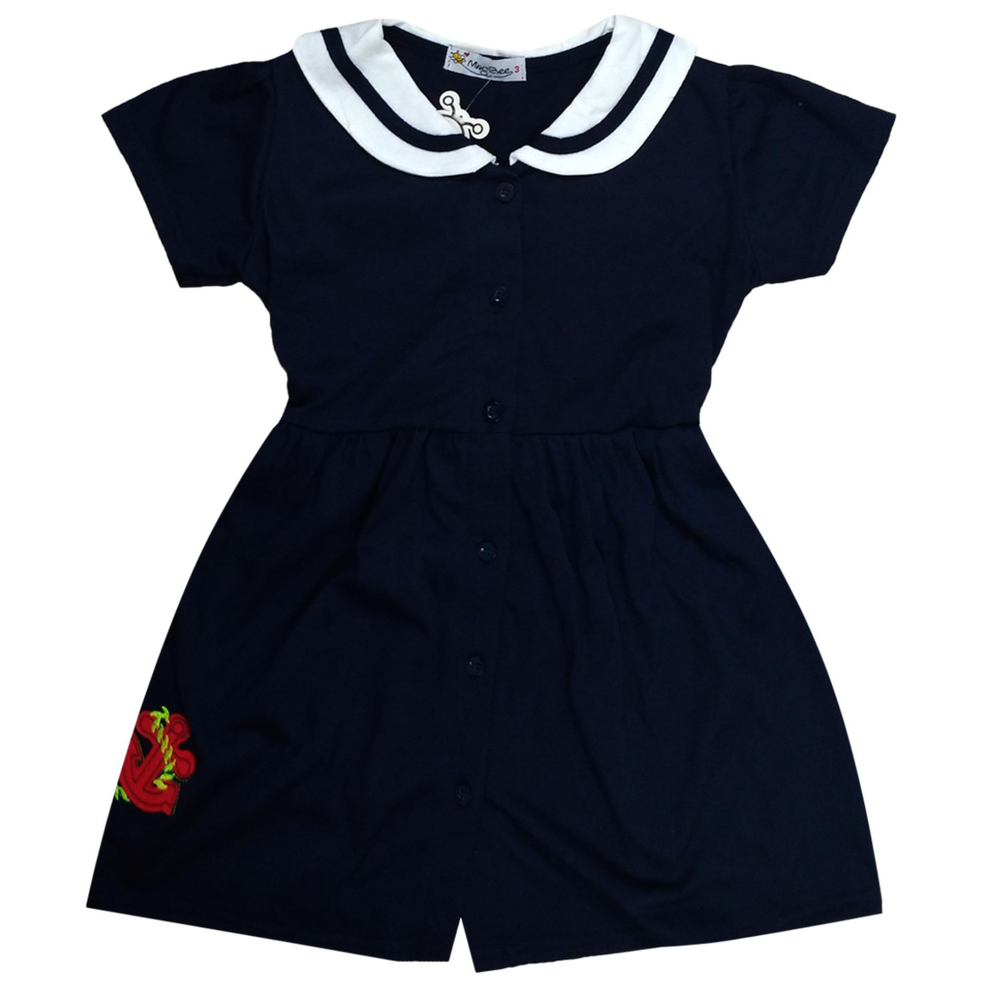 MacBee Kids Baju Anak Dress Dory Sailor