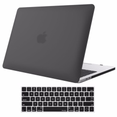 MacBook Pro (A1706/A1708�  X8913 Inch Case 2017 & 2016 ReleaseA1706/A1708. Pro Case Rubberized Hard Case Cover Shell dan KeyboardSkin Cover untuk Apple MacBook Pro 13 Inch Dengan/tanpa Touch Bar AndTouch ID �  X93 (Hitam) -Intl
