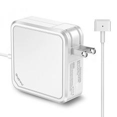 Macbook Pro Charger, SkyGrand Penggantian 60 W MagSafe 2 T-tip Konektor AC Power Adapter Charger untuk MacBook Pro dengan 13- Inch Retina Display (Dibuat Setelah Akhir 2012) -Intl