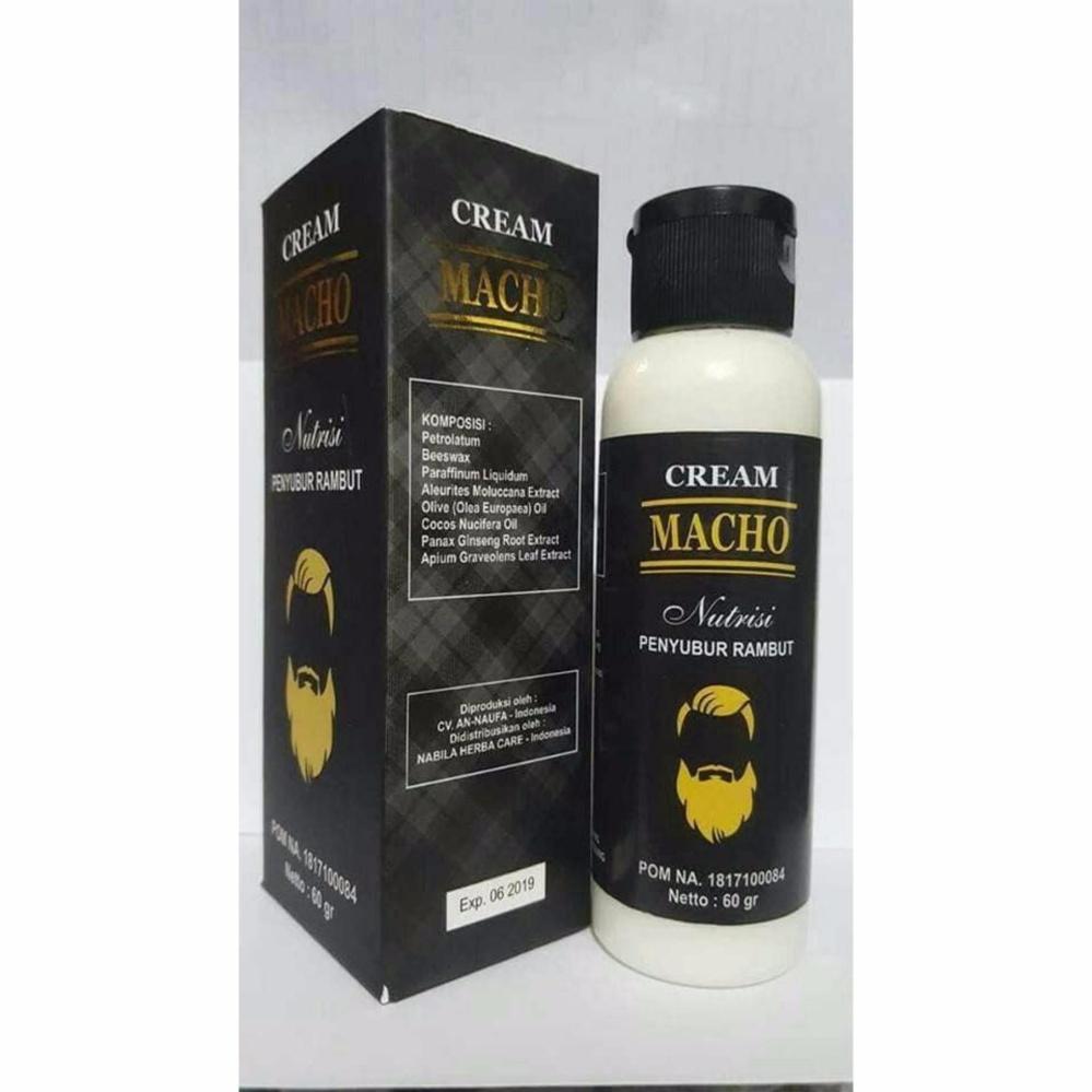 Miliki Segera Macho Cream Nutrisi Penumbuh Rambut