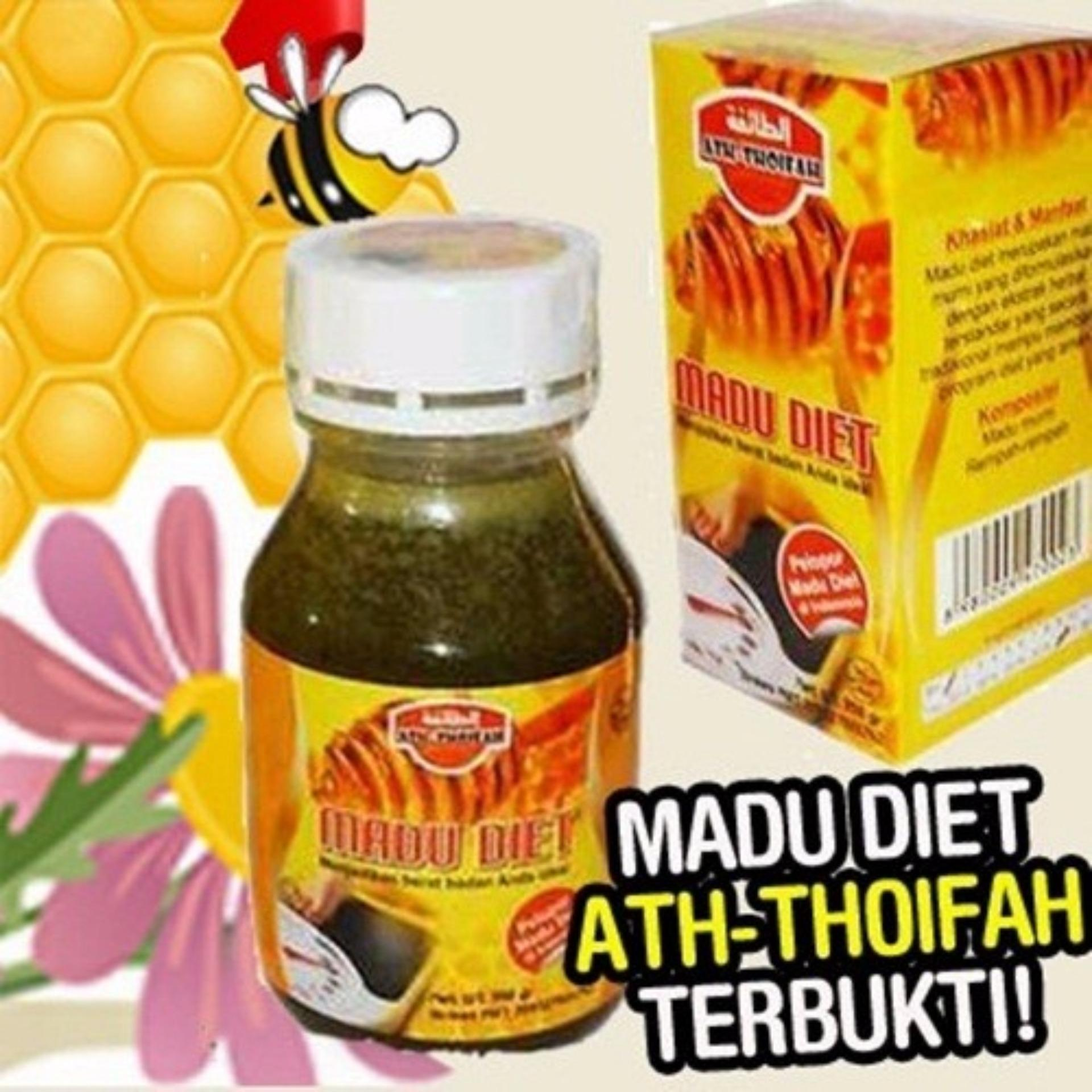 Madu Diet Langsing Herbal Pelangsing Tubuh Alami Halal 350gr Sehat Asli Original Murni 100% Honey