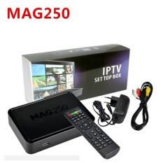 Mag250 IPTV Box Adapter Linux OS Mini IPTV Box MAG 250 Tidak Termasuk IPTV Saluran Akun Set Top Box Thailand Malaysia Pilipinas Singapura Indonesia-Intl