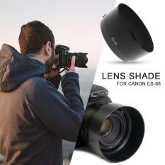 MagicWorldMall Camera Lens Hood Lens Cover Lens Shade Premium Durable ABS Black Shooting SLR EF 50 Mm F/1.8 STM - intl