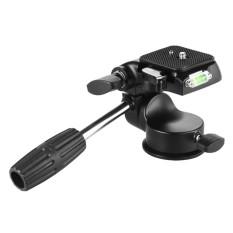 Magideal 3 Dimensi Video Tripod Fluid Kepala dengan Pelepasan Cepat untuk Nikon DSLR-Internasional