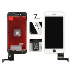 MagiDeal 5.5 Inch LCD Layar Sentuh Digitizer Frame Assembly untuk Mengganti Yang Rusak/Rusak/Cracked/Tidak Sensitif Lebih Tua Touch Digitizer Layar untuk IPhone 7 Plus Putih-Intl