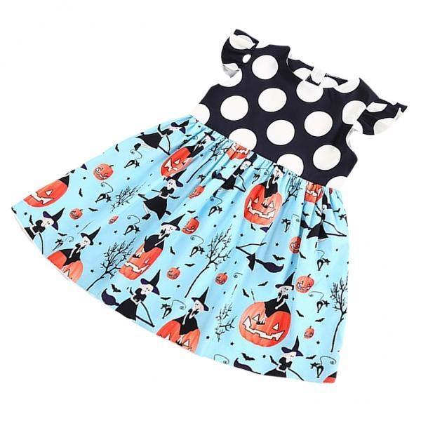 MagiDeal Anak Balita Baby Girls Halloween Labu Putri Pakaian Pakaian 2 T Cetak-Internasional