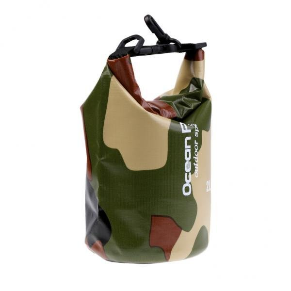Katalog Magideal Camo Waterproof Dry Bag Outdoor Sports Swimming Rafting Kayaking Boating 2L Intl Magideal Terbaru