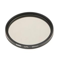Magideal CPL Polarizer Penyaring Lensa Kamera Kaca Optik untuk Nikon DSLR 55 Mm-Internasional
