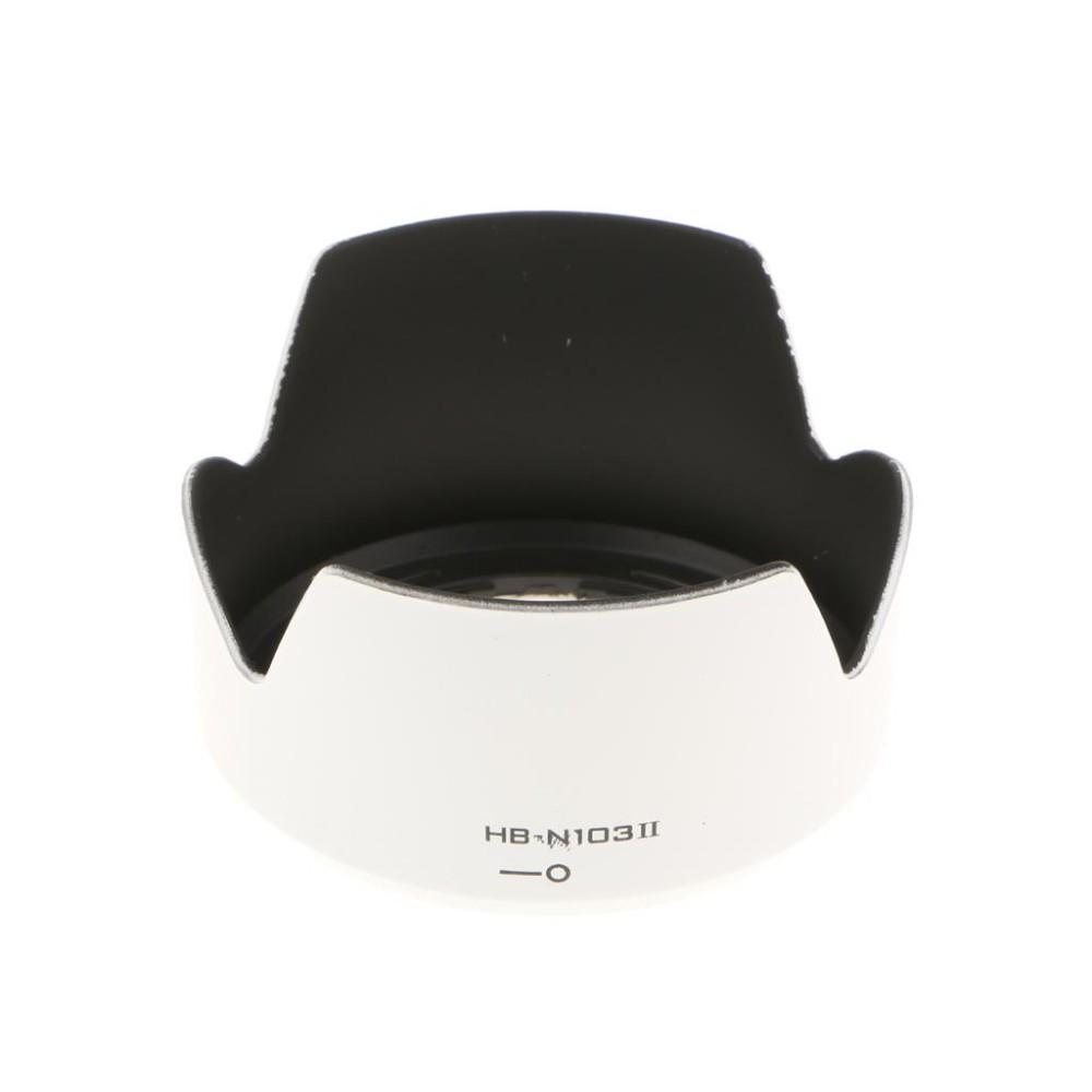 MagiDeal HB-N103 II Lens Hood for Nikon 1 NIKKOR VR 10-30mm f/3.5-5.6 V1 J1 J2 White - intl