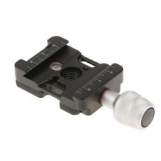 MagiDeal QR-39U Aluminium Rilis Cepat QR Clamp untuk Manfrotto Tripod Kamera-Intl