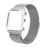 Iklan Magnet Lock Milanese Loop Stainless Steel Replacement Watchband Band Watch Bracelet Strap Frame Housing For Apple Smart Watch Iwatch 42Mm Sport Edition Series 1 2 3 Intl