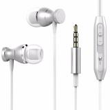 Jual Magnet Logam Wired Earphone 3 5Mm Tangan Stereo Bass Universal Earphone Dengan Mic Untuk Ponsel Intl Murah