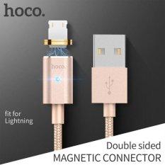Magnetic Kabel OTG Pengisian Cepat Kabel Sinkronisasi Data USB Charger untuk Apple Lightning untuk IPhone 5 S 6 6 S 7 Plus 8 Pin 1.2 M 2.4A-Intl