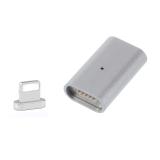 Harga Kegiatan Pengisian Magnetik Adaptor Kabel Charger Untuk Iphone 7 6 6S 5 5S Plus Se Untuk Ipad Silver International Asli Oem