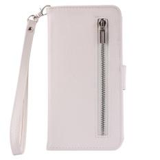 Dompet Datar Magnet Detachable Flip Cover untuk Samsung Galaxy Note 5 (Putih)-Intl