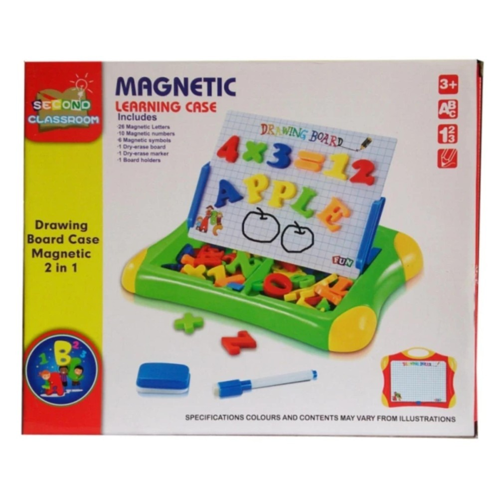 Jual Magnetic Learning Case Huruf Qj5583 Mainan Papan Tulis Magnet Murah